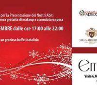 Presentazione Abiti Atelier Emozioni: 8 dicembre